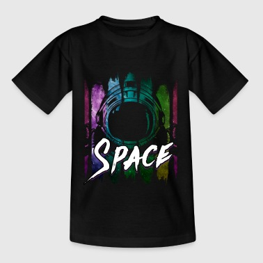 Astronaut Spaceman Space Space Rumskib - Teenager-T-shirt