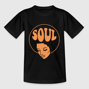 Soul Music Black Music Jazz - Camiseta adolescente