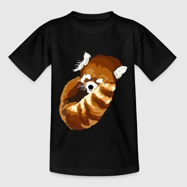Slaap Rode Panda - Teenager T-shirt
