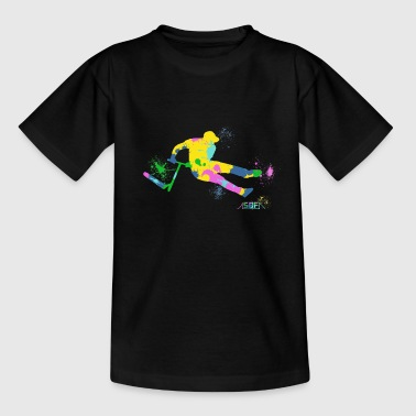 Festive Scooter - Teenage T-shirt