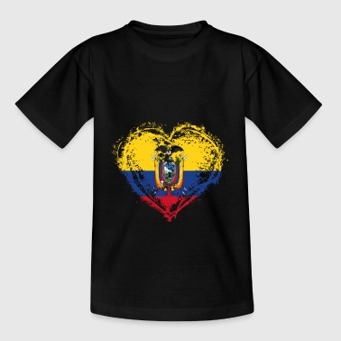 HJEMLAND ROOTS LOVE GIFT Ecuador - Teenager-T-shirt