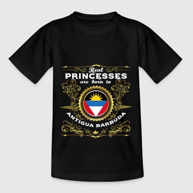 PRINCESS PRINCESS QUEEN BORN Barbuda van Antigua - Teenager T-shirt