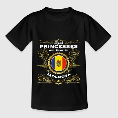 PRINCESS PRINCESS QUEEN BORN MOLDOVA - Teenage T-Shirt