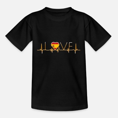 Spanish home roots home love heart from Spain - Teenage T-Shirt