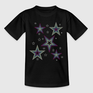 Disco Stars - for a chic disco outfit - Teenage T-shirt