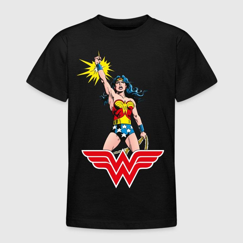 wonder woman victory teenager t shirt von wonderwoman spreadshirt. Black Bedroom Furniture Sets. Home Design Ideas