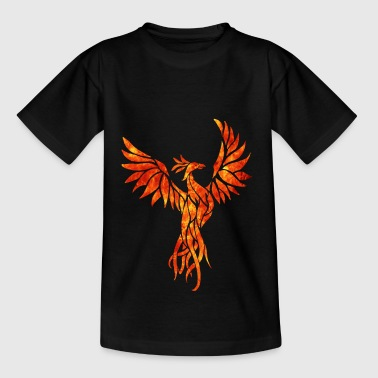 Feuer phoenix - Teenager T-Shirt
