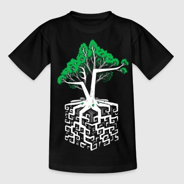 Square Root Cube Root - Teenage T-Shirt