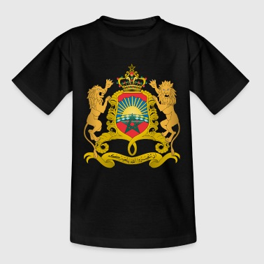 Coat of Arms Maroc - T-shirt Ado