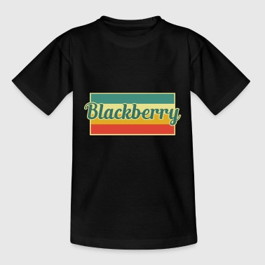 Brombeere - Teenager T-Shirt