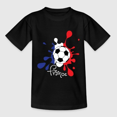 Football - France Coupe du Monde Coupe du Monde WC - T-shirt Ado