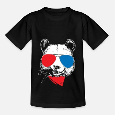 Cool cool panda gift bear - Teenage T-Shirt