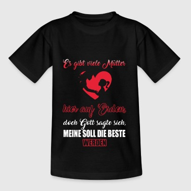 Mutter Beste Mutter Mami Kinder T-Shirt - Teenager T-Shirt