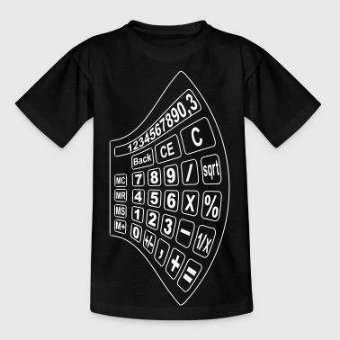math lommeregner 2 - Teenager-T-shirt