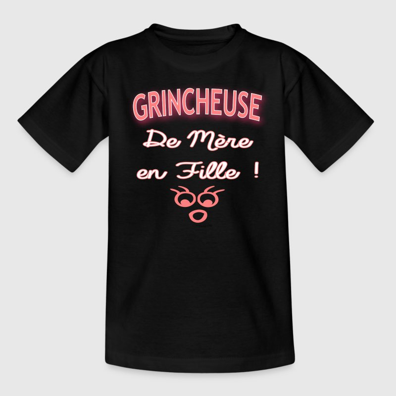 grincheuse fille - T-shirt Ado