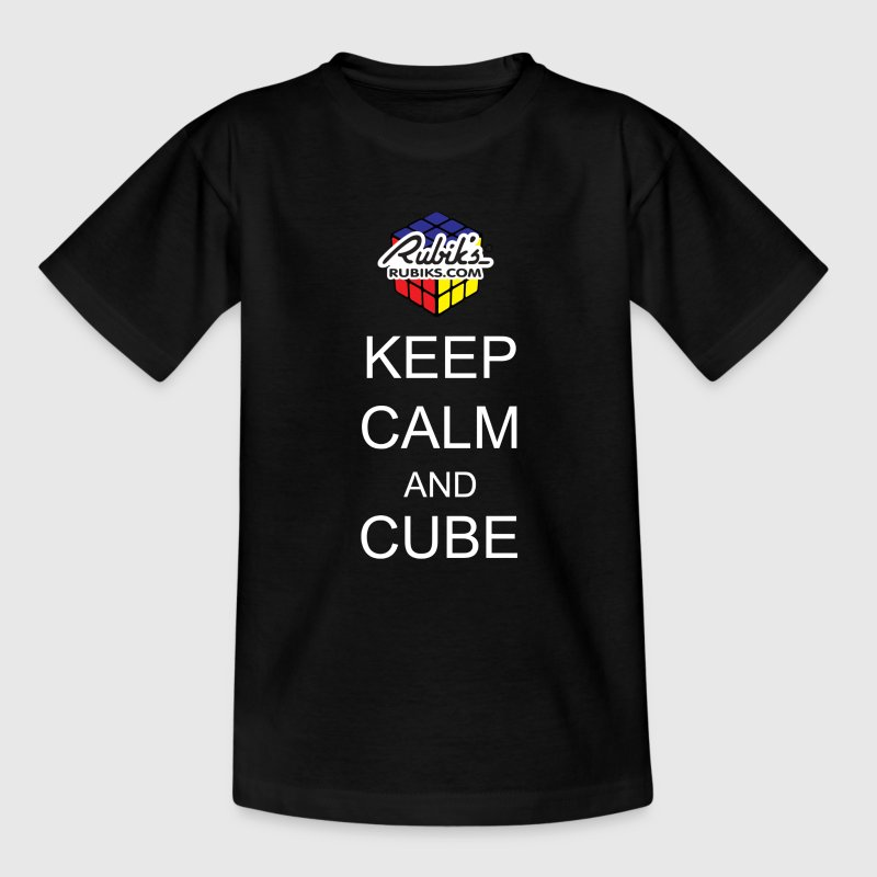 Rubik's Keep Calm - Teenager T-shirt