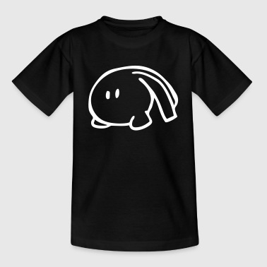 Ost Kleidung Ostern - Langohr Monster - Hase - Teenager T-Shirt