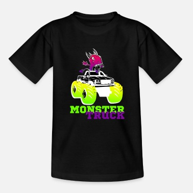 Monstertruck MONSTER TRUCK-shirt voor alle liefhebbers van grote auto's - Teenager T-shirt