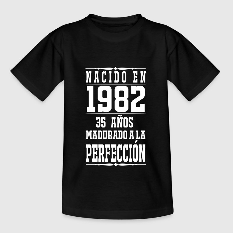 1982-35 years perfection - 2017 - it - Teenage T-shirt