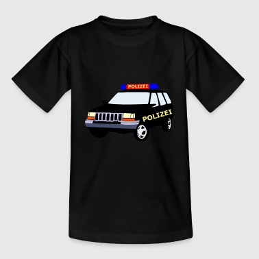 Polizeiauto - Teenager T-Shirt