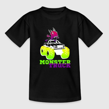 MONSTER TRUCK shirt til alle elskere store biler - Teenager-T-shirt