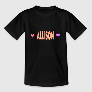 Allison - Teenage T-Shirt