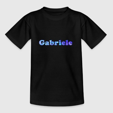 Naam: Gabriele - Teenager T-shirt
