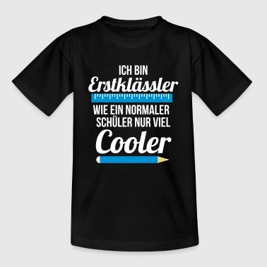 First graders schooling students just a lot cooler - Teenage T-Shirt