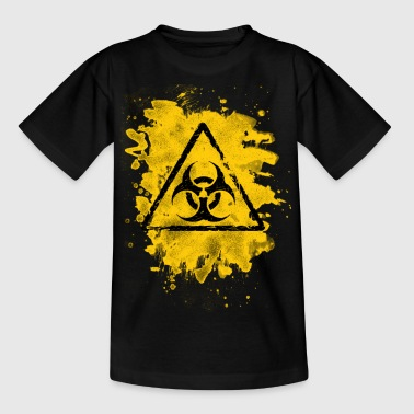 Biohazard – bleached grungy look - Teenager T-Shirt