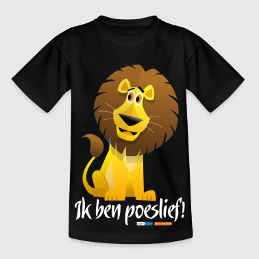 Ik ben poeslief - Teenager T-shirt
