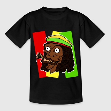 rasta Tasker - Teenager-T-shirt