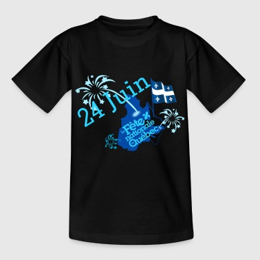 24_juin_fete_nationale_du_quebec - T-shirt Ado