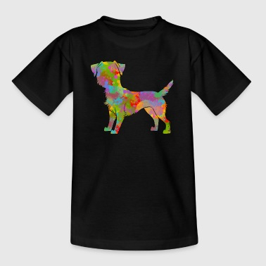 Border Terrier Multicolored - Teenage T-Shirt