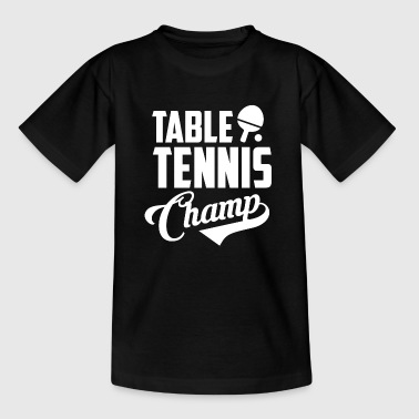 Bordtennis gave - Bordtennis Bordtennis Team - Teenager-T-shirt