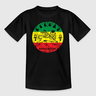 Black Power Reggae eu - Teenage T-Shirt