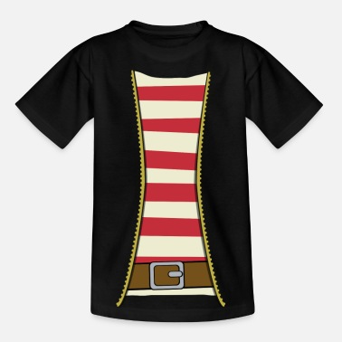 Pirate costume - T-shirt tonåring