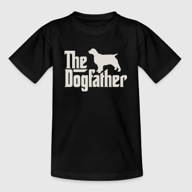 Dogfather - Engels Springer Spaniel - Teenager T-shirt