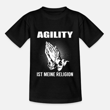 Kymco Agility - meine Religion - Teenager T-Shirt