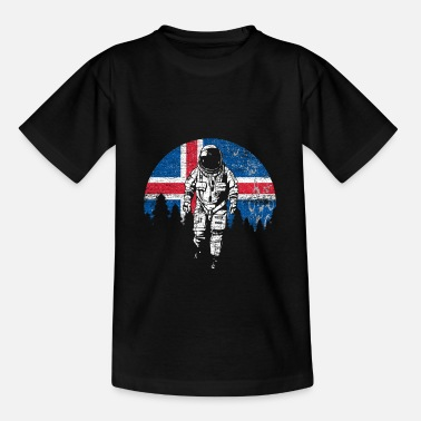 Iceland Football Iceland flag - Teenage T-Shirt