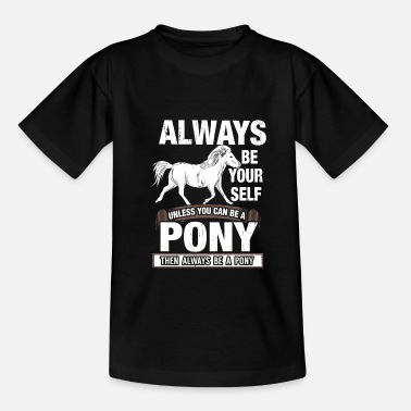Pony pony - Teenage T-Shirt