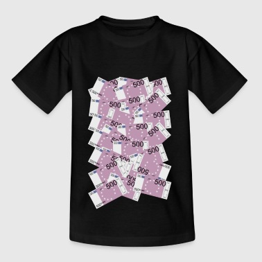 500 Euro factuur - Teenager T-shirt