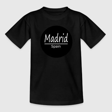 Madrid - Camiseta adolescente
