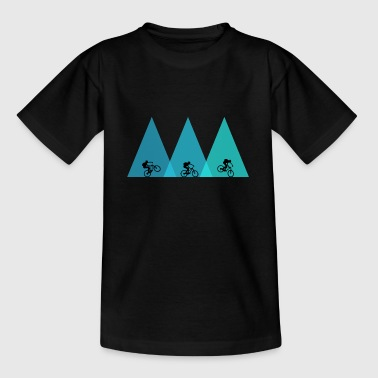 Bike MTB mountain bike mountain biking - Teenage T-Shirt
