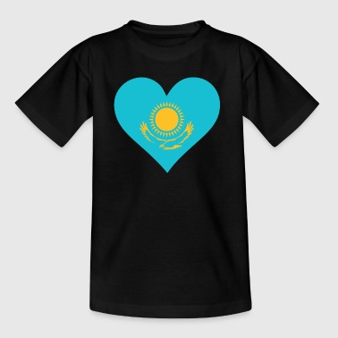 A Heart For Kazakhstan - Teenage T-Shirt