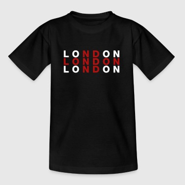 London, Großbritannien-Flaggen-Hemd - London T-Shirt - Teenager T-Shirt