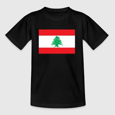 National Flag Of Lebanon - Teenage T-Shirt