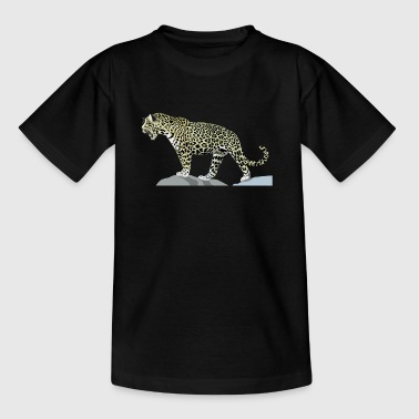 Gepard cheetah cat jaguar leopard ocelot gepard wildcat31 - Teenager T-Shirt