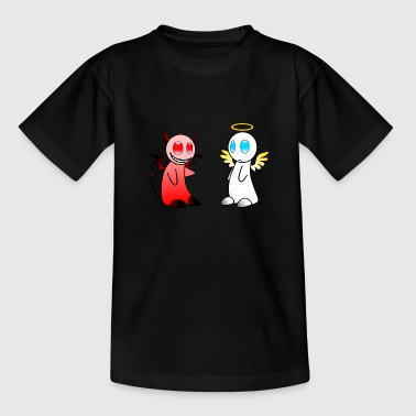 Angel and Devil - Teenager T-Shirt
