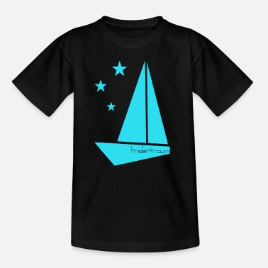 Hijs origamiboot - Teenager T-shirt
