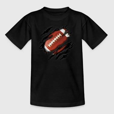 Football in mir - Teenager T-Shirt